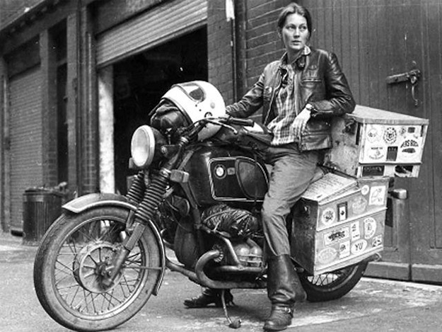 Elspeth Beard, motorcycle adventurer