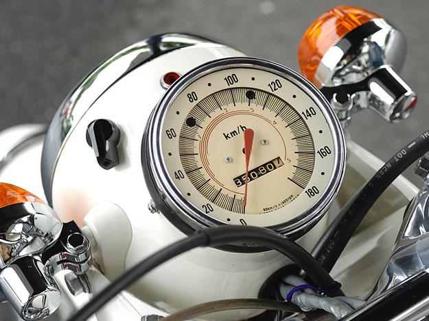 Honda CB750 Police motorcycle