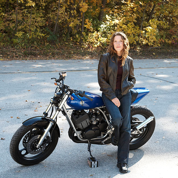 Yamaha RD400 custom | Bike EXIF