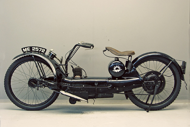 The extraordinary 1921 Ner-a-Car motorcycle