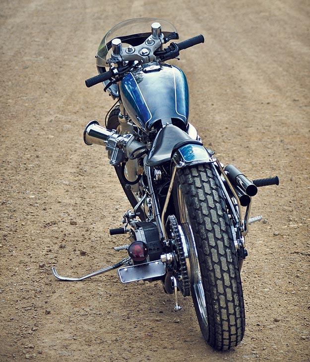1950 Harley Panhead by Matt Machine
