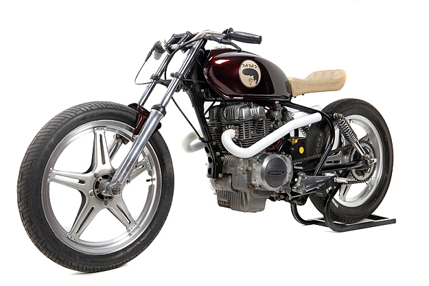 Honda CB250 custom: Much Much Go