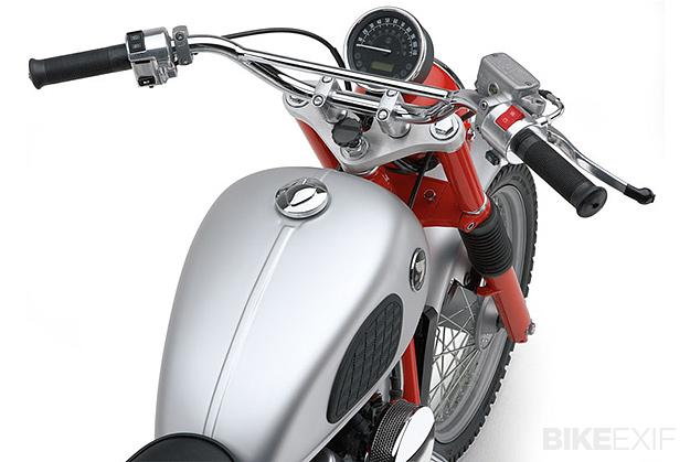 Honda scrambler: Cobra USA's retro-themed CL750