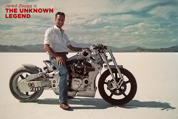 Legend Of The Motorcycle founder Jared Zaugg