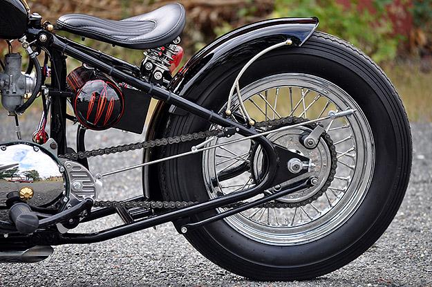Triumph TR6 Tiger custom motorcycle