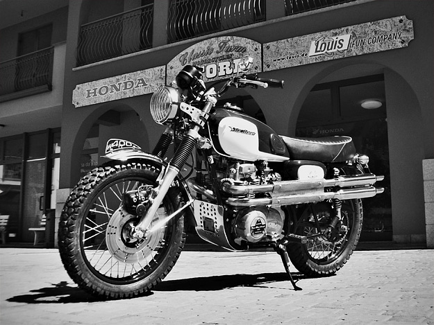 Kawasaki W400 custom by McDeeb