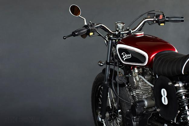 Tiger Honda custom motorcycle