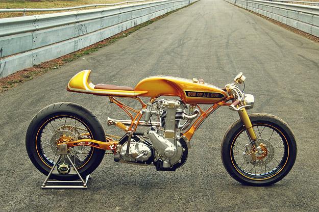 Custom BSA motorcycle 'Son Of A Gun'