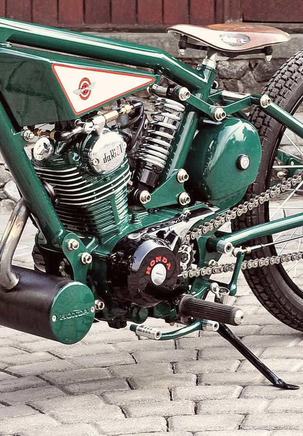Honda GL100 bobber by DariztDesign