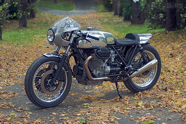 Machine Moto Guzzi Le Mans Bike Exif