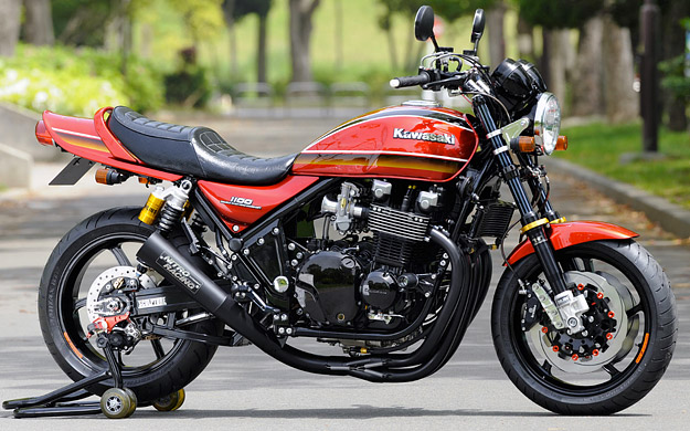 Custom Kawasaki Zephyr by the Japanese workshop AC Sanctuary.