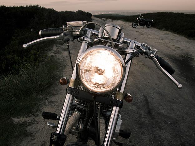 Rat bike: Honda CD250U