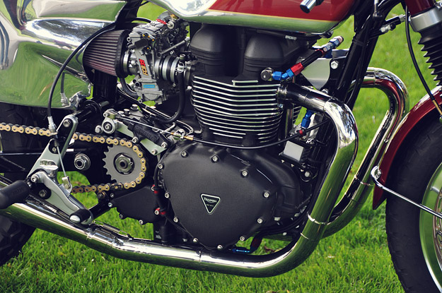 Master Cylinder Price >> Streetmaster 'Brighton' Triumph Bonneville cafe racer | Bike EXIF