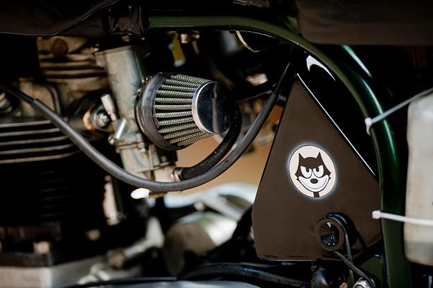 Triton motorcycle