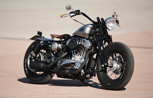 Harley Sportster bobber by L.A. Motorcycles