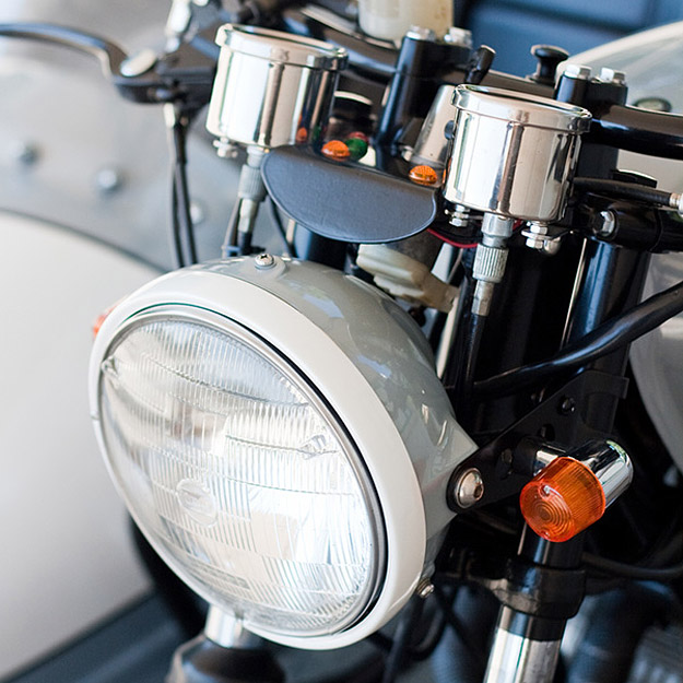 Motorcycle sidecar: Honda CB550 by Analog