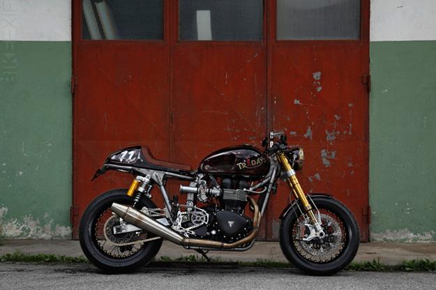 'Tridays-Eleven': Uli Brée's custom Triumph Bonneville