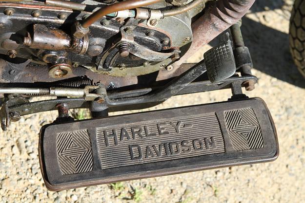 Harley-Davidson racer