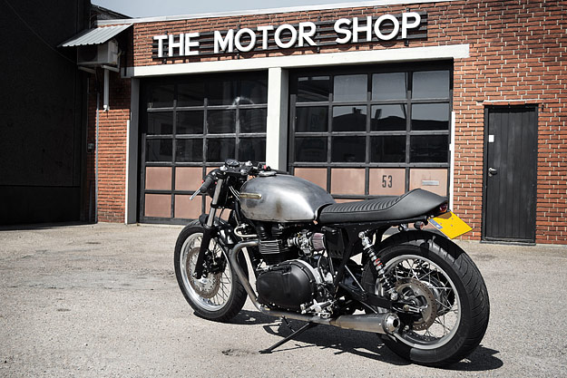 Triumph Thruxton custom by the Wrenchmonkees