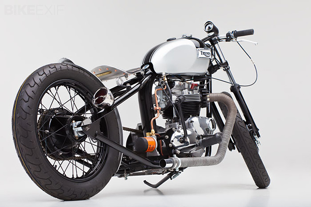 1973 Triumph Tiger by Helrich Custom Cycles