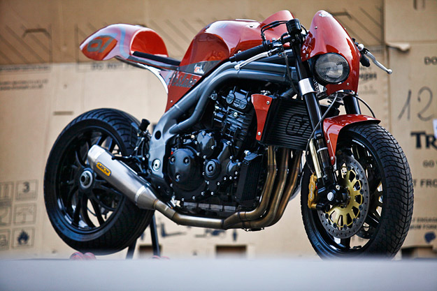 Weslake: A red-hot Triumph Speed Triple cafe racer from Italy