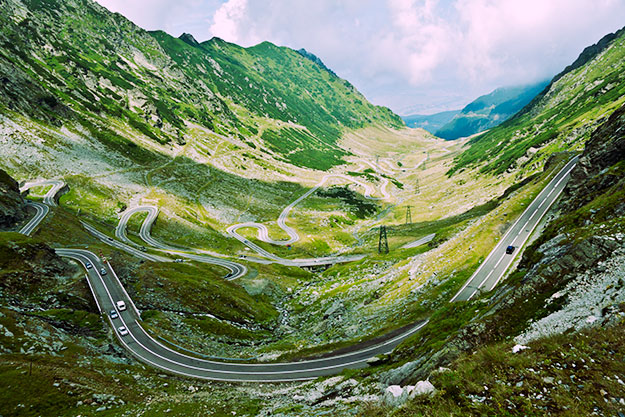 Alpine road image by Horia Varlan