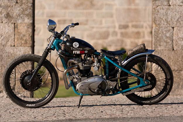 Custom Triumph T120 by El Solitario