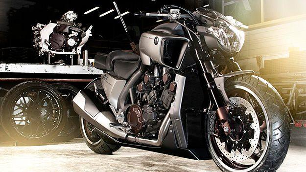 Yamaha V-Max motorcycle