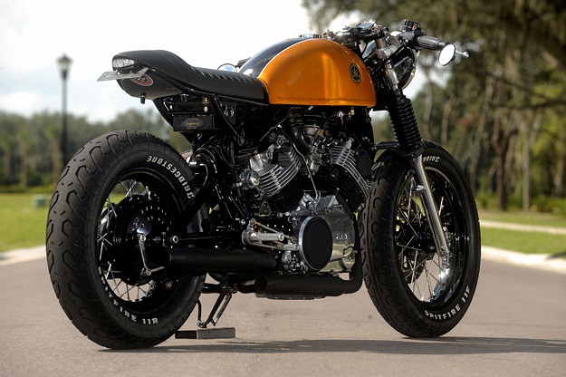 The world's most stylish Yamaha XV750 cafe racer? | Bike EXIF