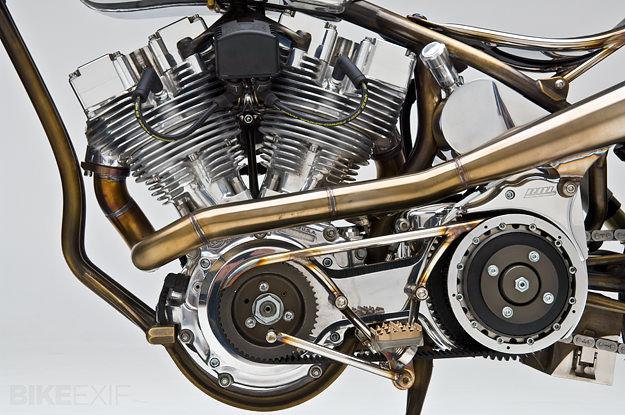 Shovelhead custom by Kraus Motor Co.