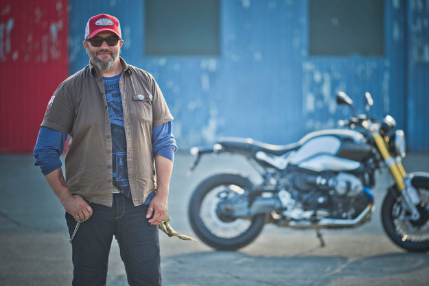 Ola Stenegärd, Indian Motorcycles' Director of Product Design
