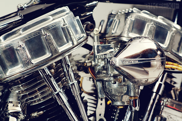 Siksika: a 1956 Harley Panhead by Cro Customs