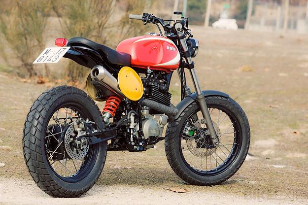 Yamaha XT600 by Radical Ducati