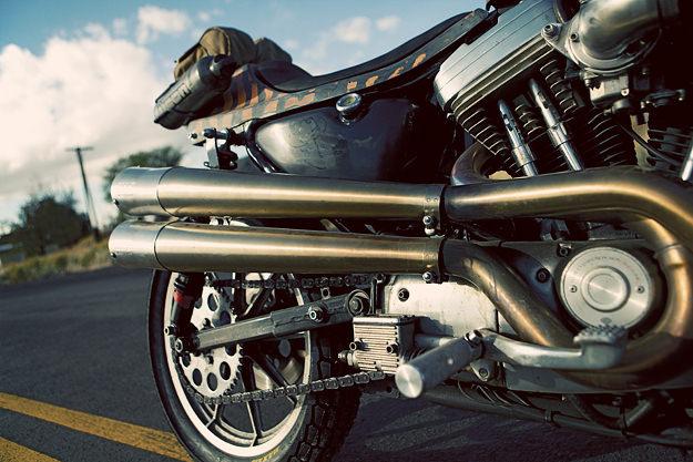 Icon Roach: a custom 1986 Harley Sportster