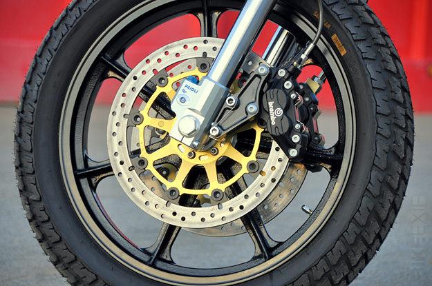 Sportster Sport custom by Mule motorcycles