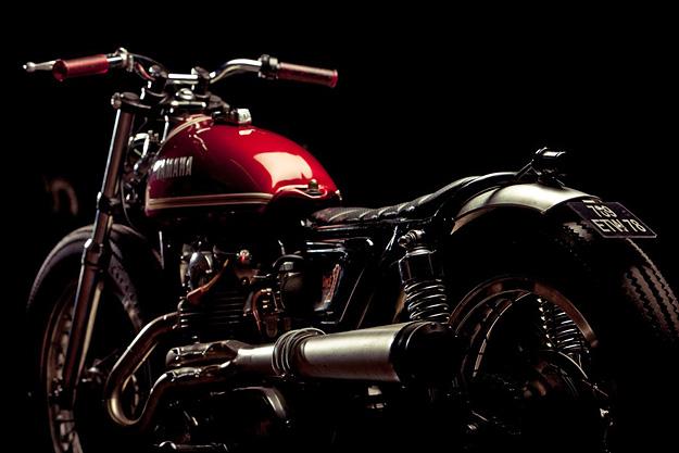 Custom Yamaha XS650 by The Lucky Cat Garage