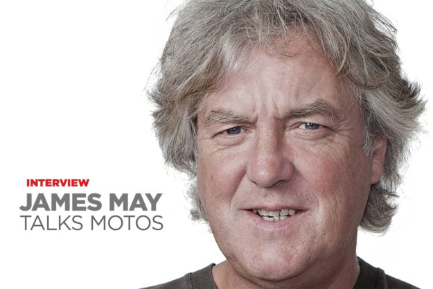 Interview with James May about motorcycles