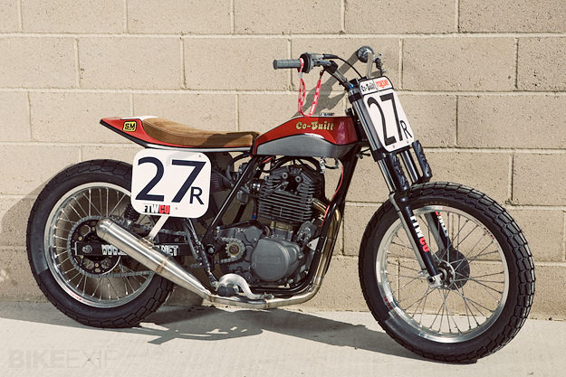 Racing on a budget: Co-Built's flat track racing motorcycle