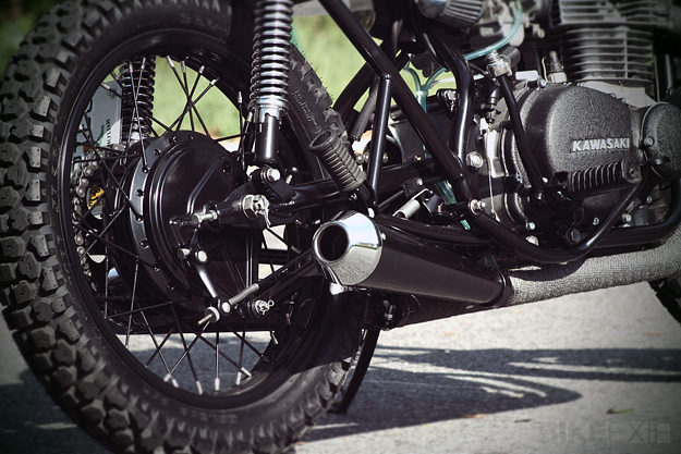 KZ400 custom by Analog Motorcycles
