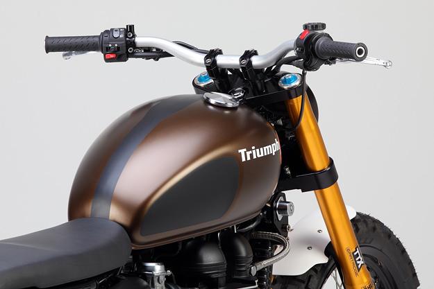 Triumph Scrambler: the Rumbler