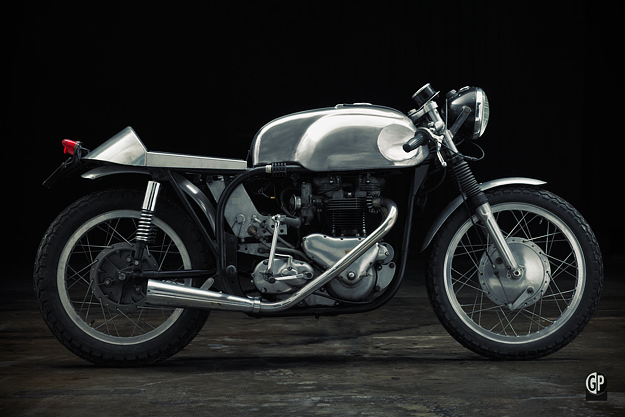 Freddie Cooper's Triton motorcycle for sale