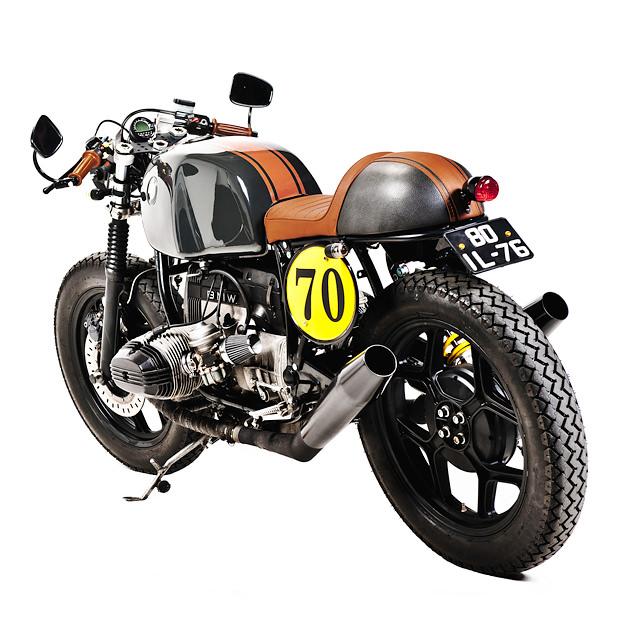 Custom BMW R80 police bike from Portugal's Ton-Up Garage