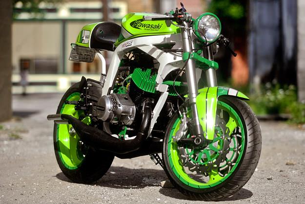 Santiago Chopper Kawasaki H2 | Bike EXIF