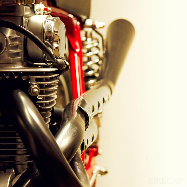 Honda cafe racer by Lossa Engineering