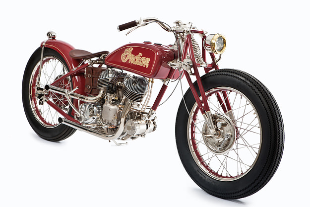 Indian motorcycle by The GasBox