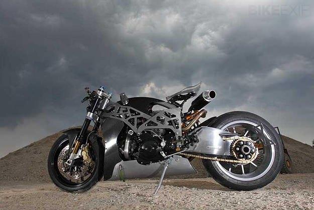 Custom Ducati Monster by SCM.