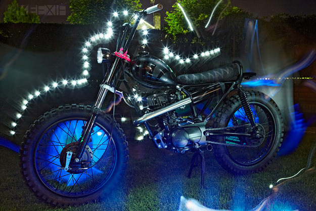 Honda CG 125 by El Solitario Motorcycle Club