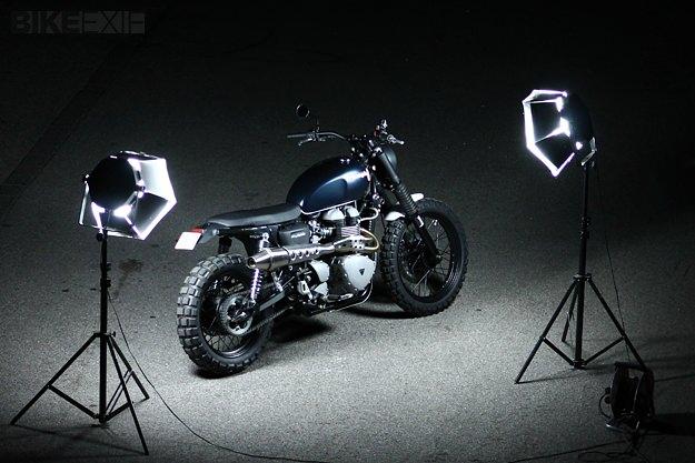 Triumph Scrambler by JvB-moto
