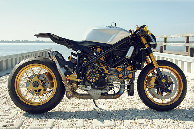 Ducati 1098 custom motorcycle