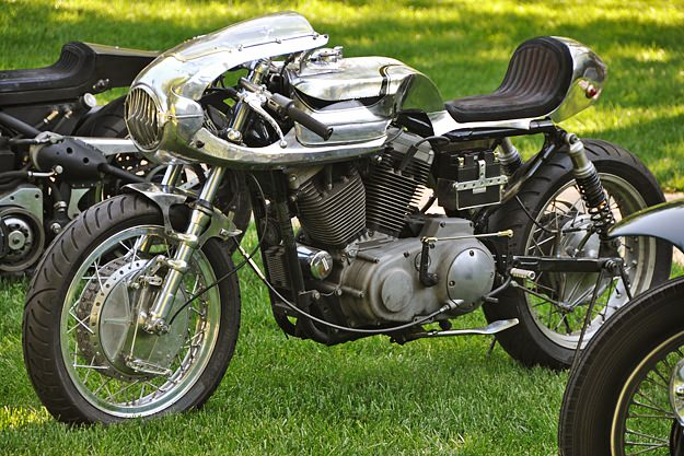 Harley-Davidson Sportster cafe racer